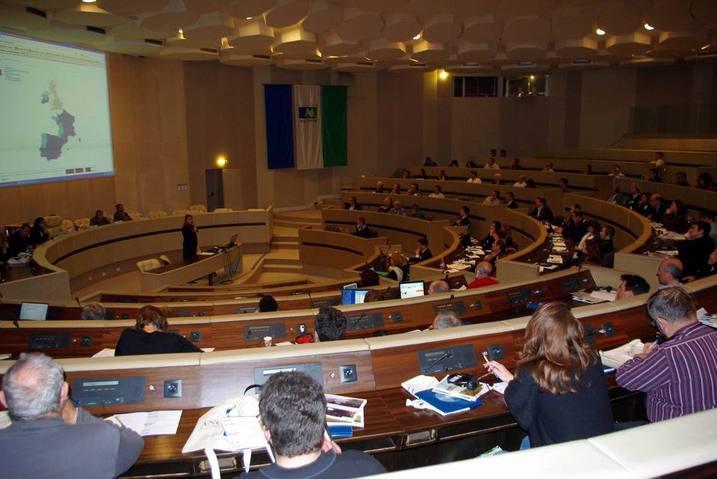 Forte participation, salle de l'assemblée plénière (Ph Paysud)