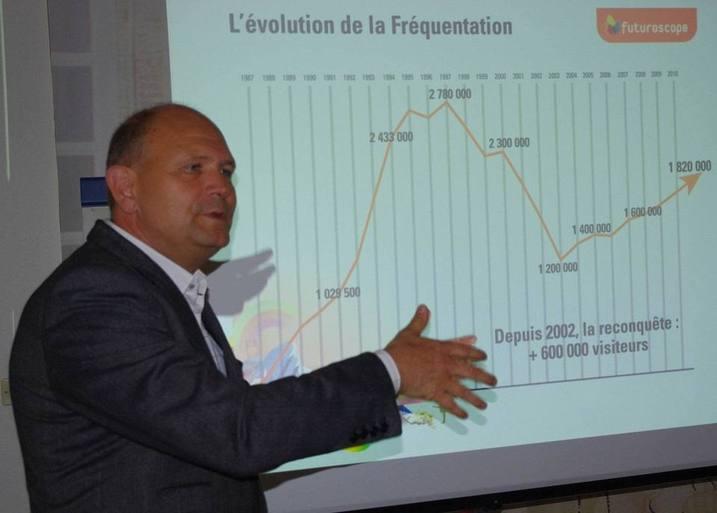 Dominique Hummel au Club de la Presse de Bordeaux (Ph Paysud)