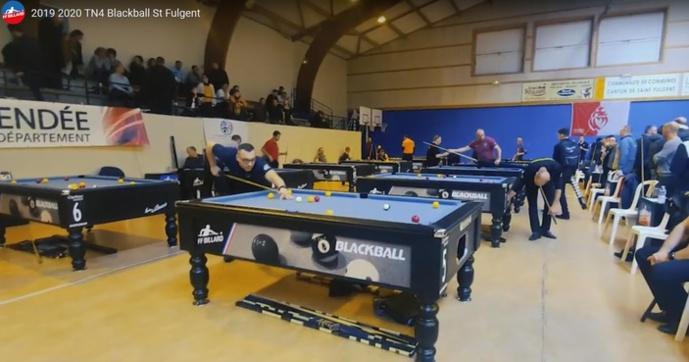 La 5e étape du championnat de France de billard Blackball à Agen