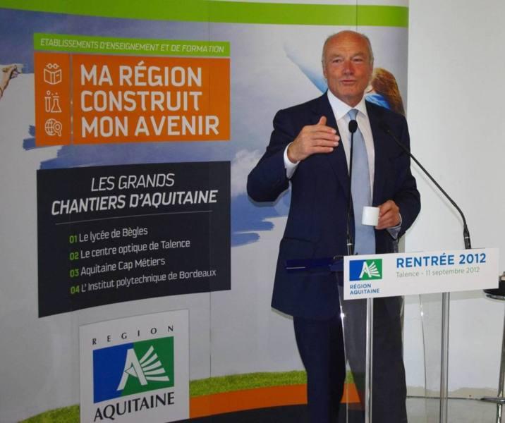Alain Rousset:une rentrée politique sous le signe du hollandisme