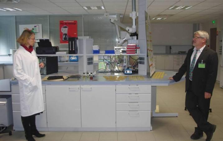Dans un laboratoire du CEDOP (Ph Paysud)