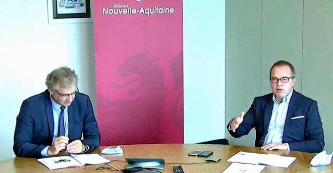 Hervé Lefèvre et Renaud Lagrave (DR)