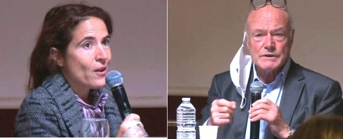 Mazarine Pingeot et Alain Rousset (DR)
