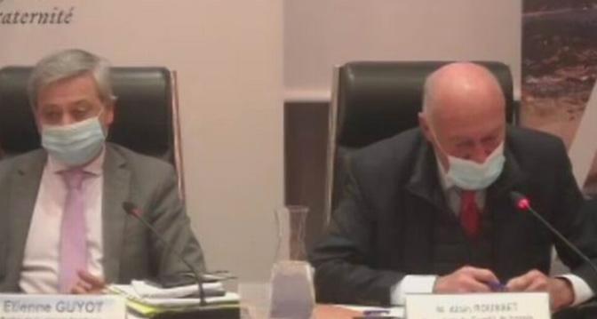 Une visio-conférence. E. Guyot et A. Rousset (DR)