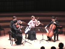 Le Quatuor Schumann (Ph Paysud Tv)