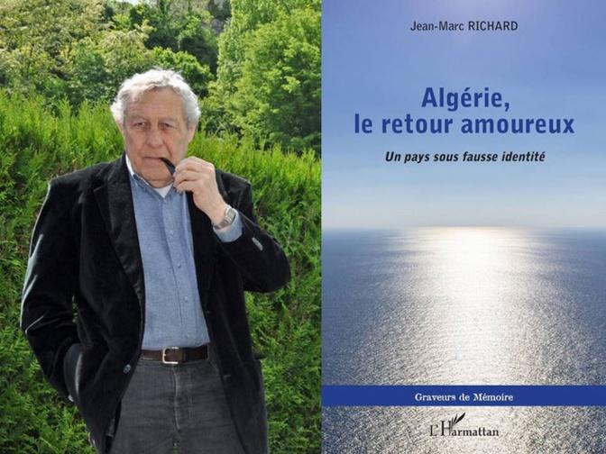 Jean- Marc Richard et le livre (ph RD)
