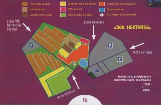 """Finale Mondiale de labour en Gironde en 2014:""""Les Terres de Jim"""" à défricher"""