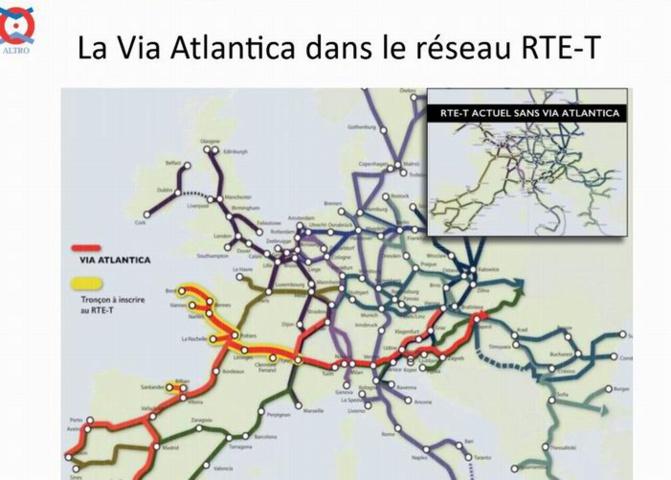 ALTRO appuie son projet de Via Atlantica