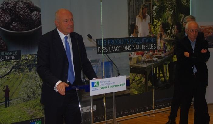 Alain Rousset- A droite:Bernard Péré (Ph  Paysud)
