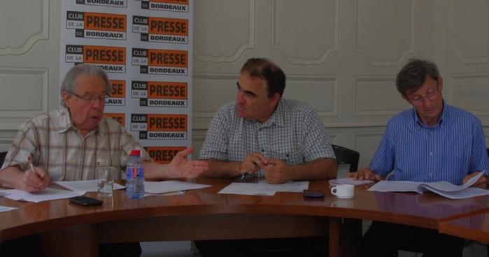 Présnetaton de l'étude au Club de la Presse de Bordeaux (Ph Paysud)