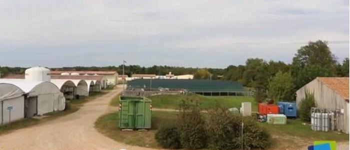 La station de l'IRSTEA à St Seurin (copie d'écran vidéo IRSTEA)