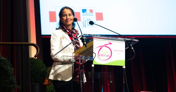 Mme Royal lors de la Conference sur la biodiversité (Ph DR)