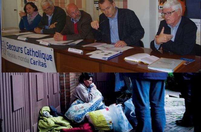 Pauvreté:le Secours Catholique lance un appel à François Hollande