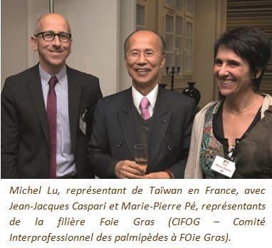 Taïwan s'ouvre au foie gras frais français