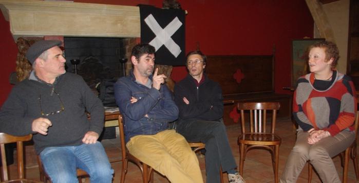 Conférence de presse de la CIPG à l'Utopia de Bordeaux (Ph Paysud)
