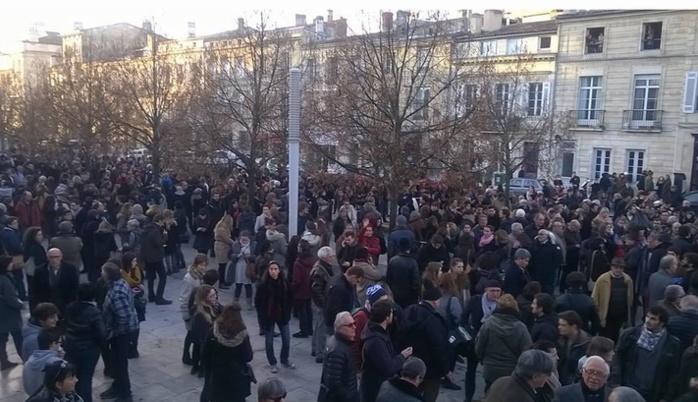 Le rassemblement de Bordeaux (Ph Andrea Schmitz)