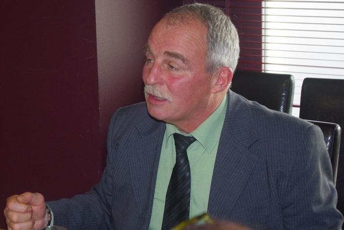 Dominique Graciet s'adresse aux journalistes (Ph Paysud)
