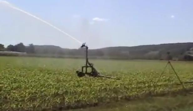 Irrigation estivale en Lot-et-Garonne (Paysud Tv)