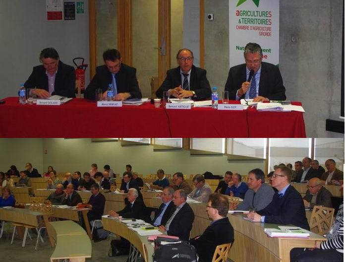 Les chambres r gionales d 39 agriculture aquitaine poitou - Chambre agriculture poitou charentes ...