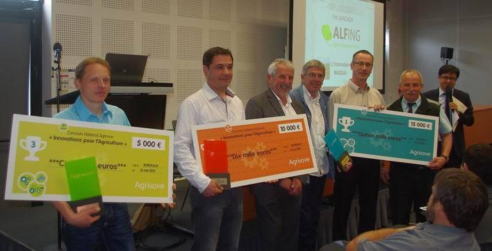 Les lauréats se partagent 30 000€ (Ph Paysud)