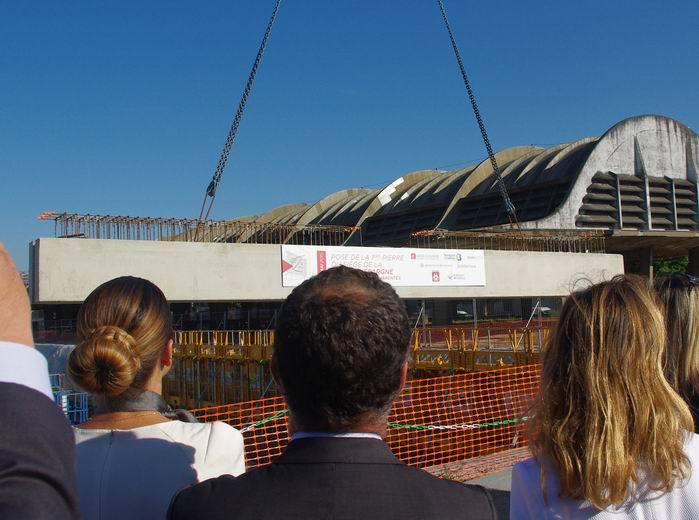Caisse d'Epargne Aquitaine-Poitou-Charentes: la première à construire dans Bordeaux-Euratlantique