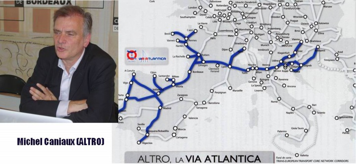 FERROVIAIRE-Selon ALTRO  Bordeaux et  l'Aquitaine gagneraient à soutenir la Via Atlantica