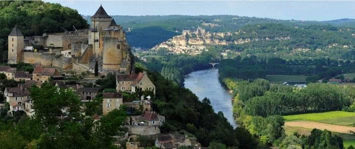 Château de Castelnaud, la Dordogne, Beynac... (DR)