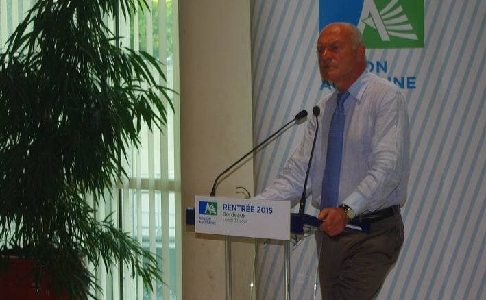 La rentrée d'Alain Rousset:un avis favorable à une écotaxe sélective