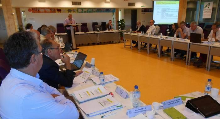 La réunion du bureau transitoire (DR)