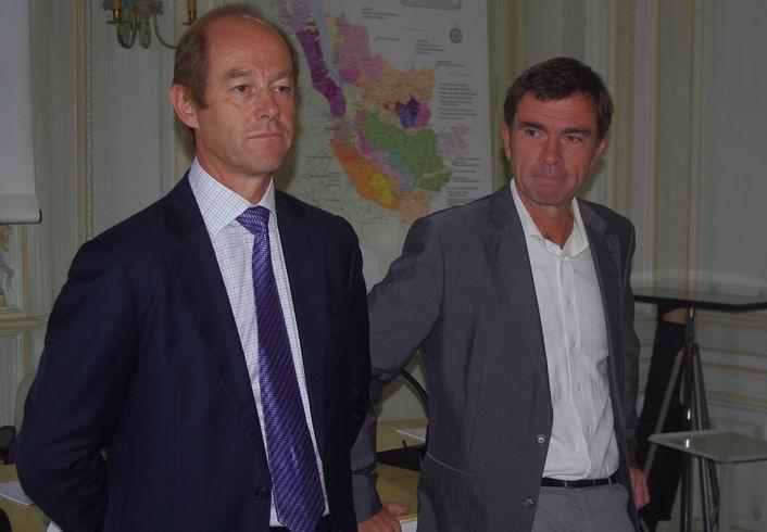Allan Sichel et Bernard Farges (ph Paysud)
