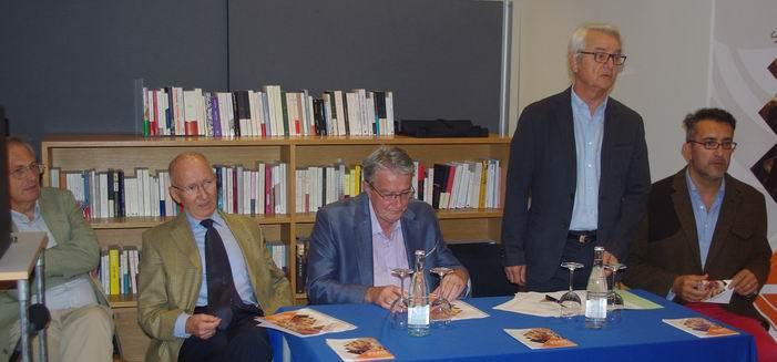 Claude Jean,président de Sagittarius,présente l'évènement ( Ph Paysud)