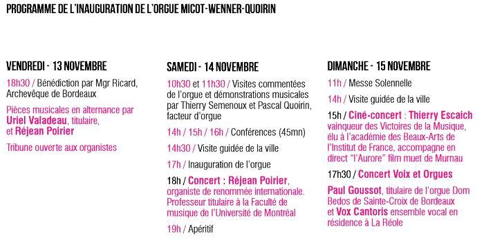 La Réole va fêter le retour de ses orgues en l'église Saint-Pierre