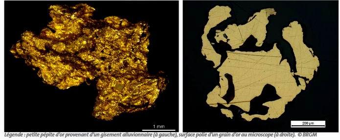 Des travaux du BRGM permettent d'établir la traçabilité de l'or