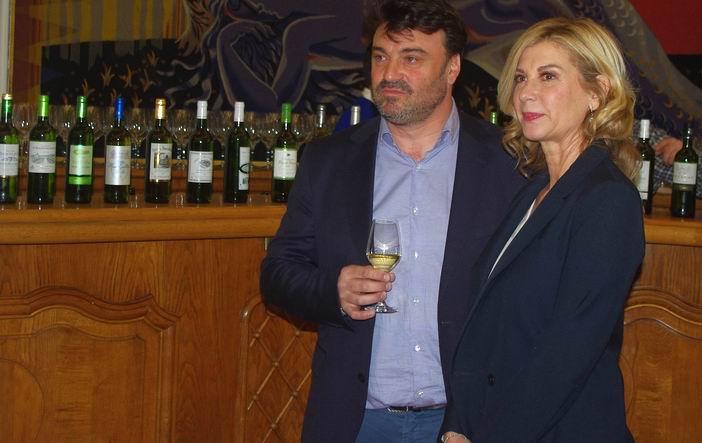 Stéphane Dupuch et Michèle Laroque (Ph Paysud)