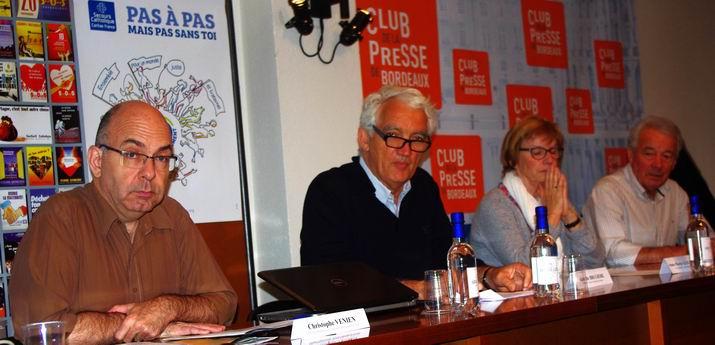 Présentation de l'évènement au Club de la presse de Bordeaux (ph Paysud)