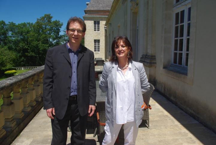 Alain Monget et Geneviève Marcusse-Artigue (Ph Paysud)