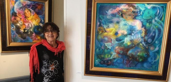 Marie-Claire d'Armagnac en exposition (DR)