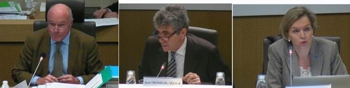 Alain Rousset, Jean Dionis, Virginie Calmels (capture d'écran)