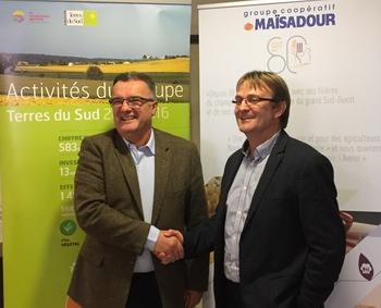 Michel Prugue et Patrick Grisou (DR)