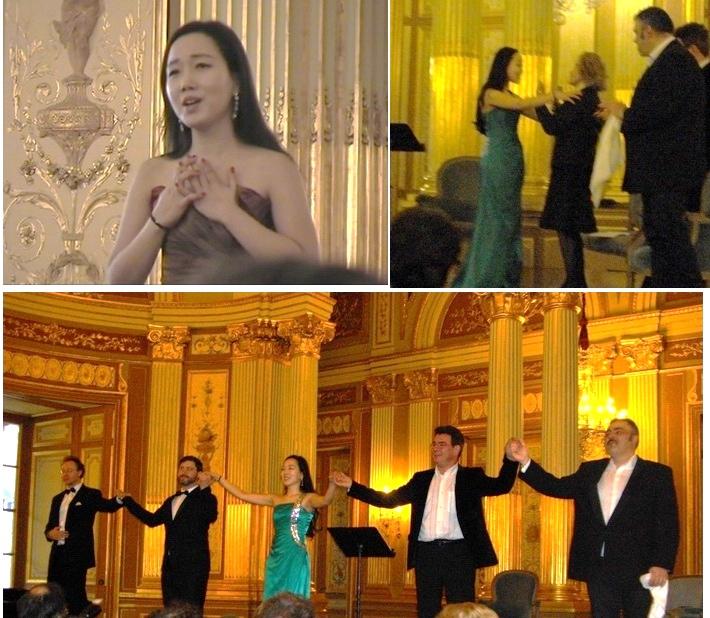 AGT Bordeaux:trois ténors et une soprano
