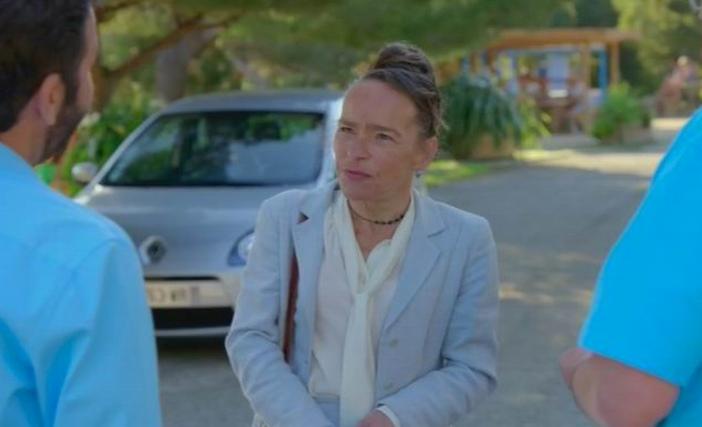 Dominique Frot dans Camping Paradis (tél.Capture d'écran)