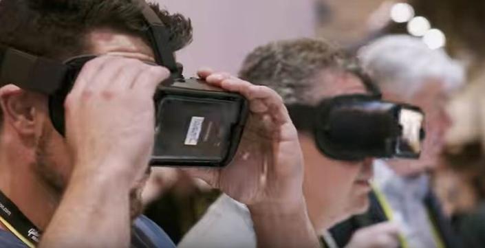 Capture d'écran vidéo You Tube du CES