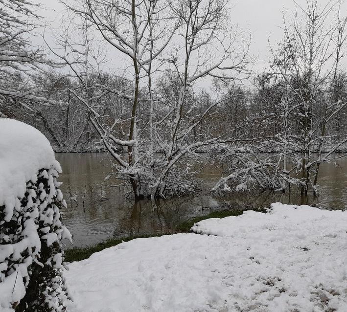 Les berges de  l'Oise le 7 février 2018 (ph CE)
