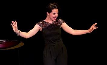 La soprano Alexandra Marcellier au dernier Open (ph Laurent Wangermez)
