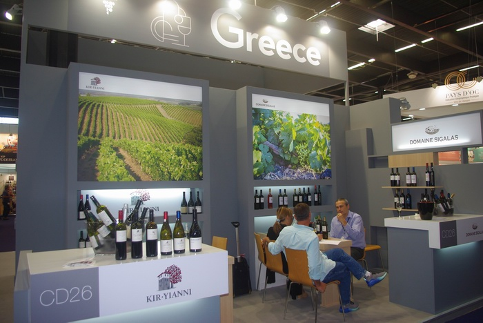 Vinexpo:une vocation internationale (ph Paysud)