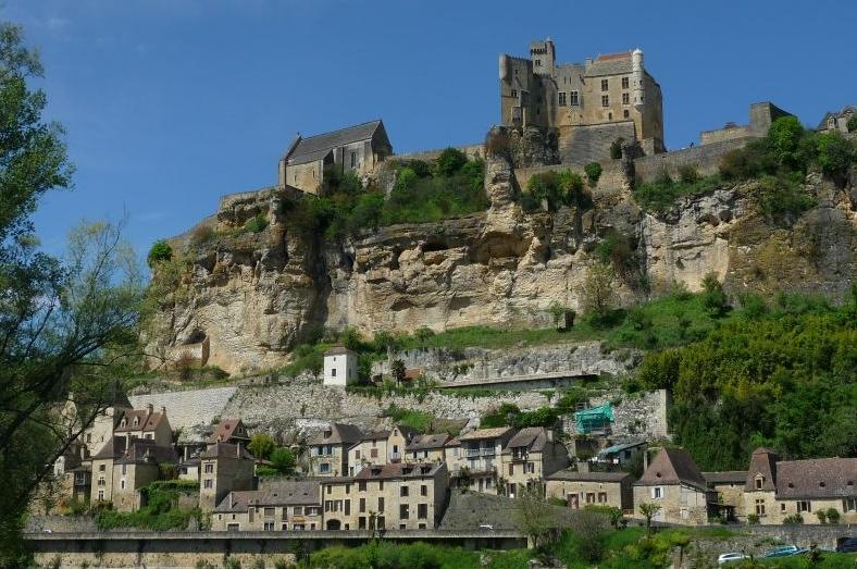 Beynac et son château féodal (ph DR)