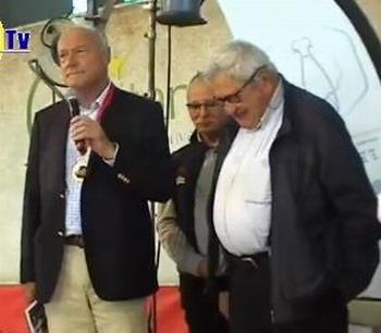 Au salon de l'agriculture de Bordeaux en 2017: Alain Rousset,Dominique Graciet, Jacques Castaing (ph PaysudTv)