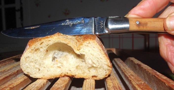 Un couteau prestigieux (ph Paysud)