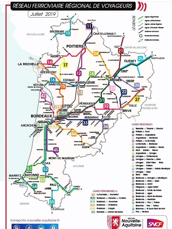 Nouvelle-Aquitaine et SNCF: feu vert aux TER de l'été