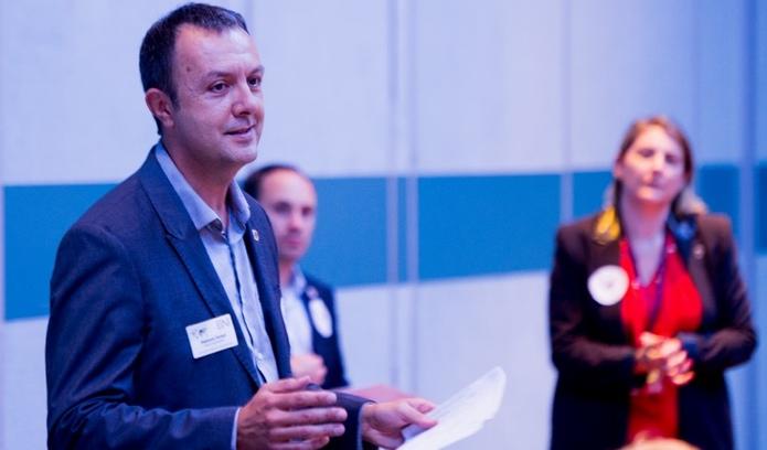 Stephane Terraza en conférence (DR)